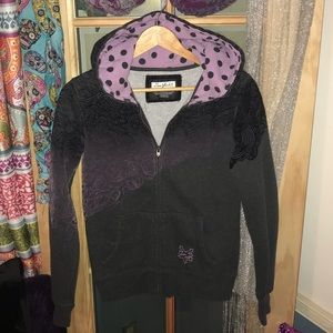 🦋4 for $30🦋 EUC ZooYork zip up size L